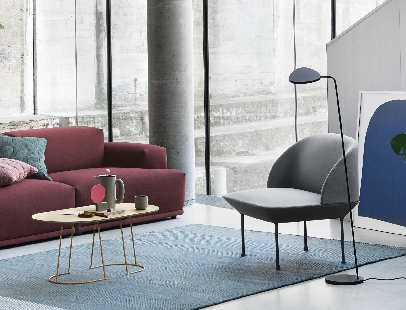muuto oslo easy chair funktion alley