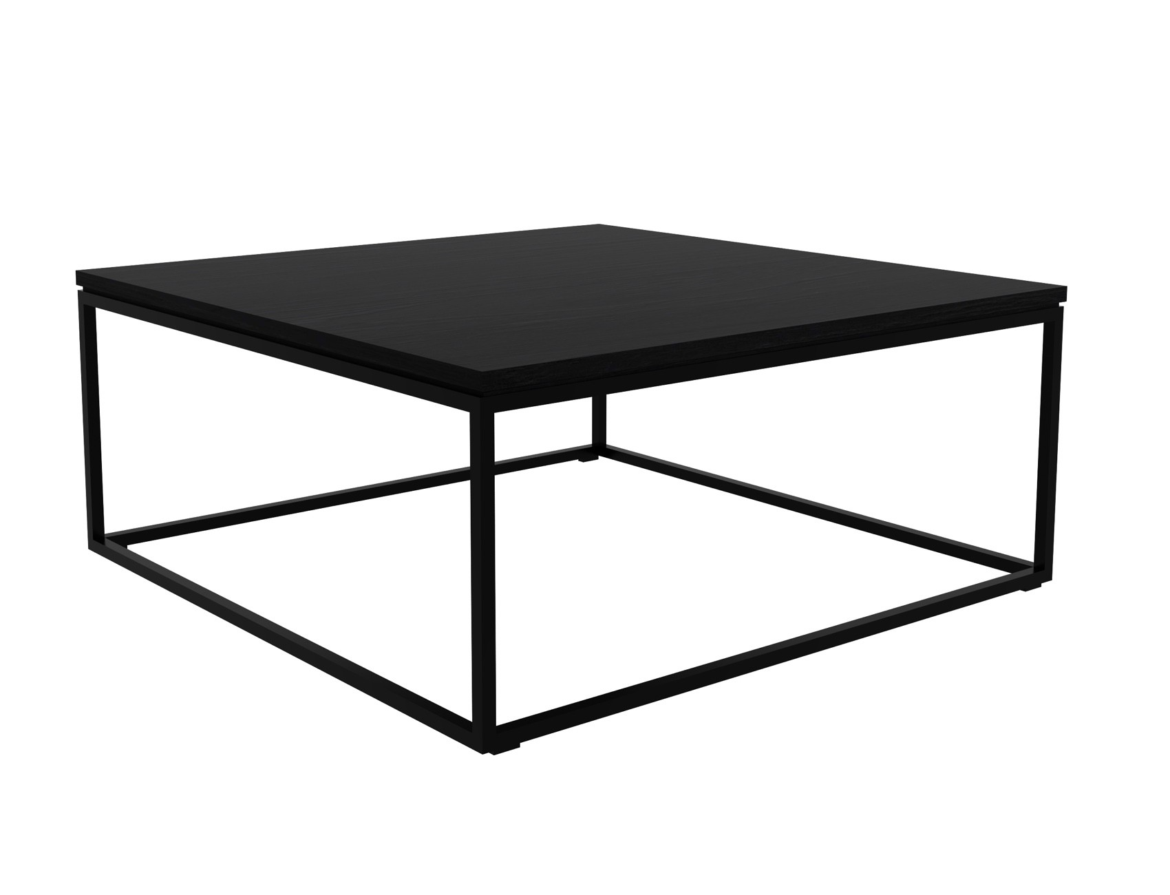 Ethnicraft Thin Coffee Table Black