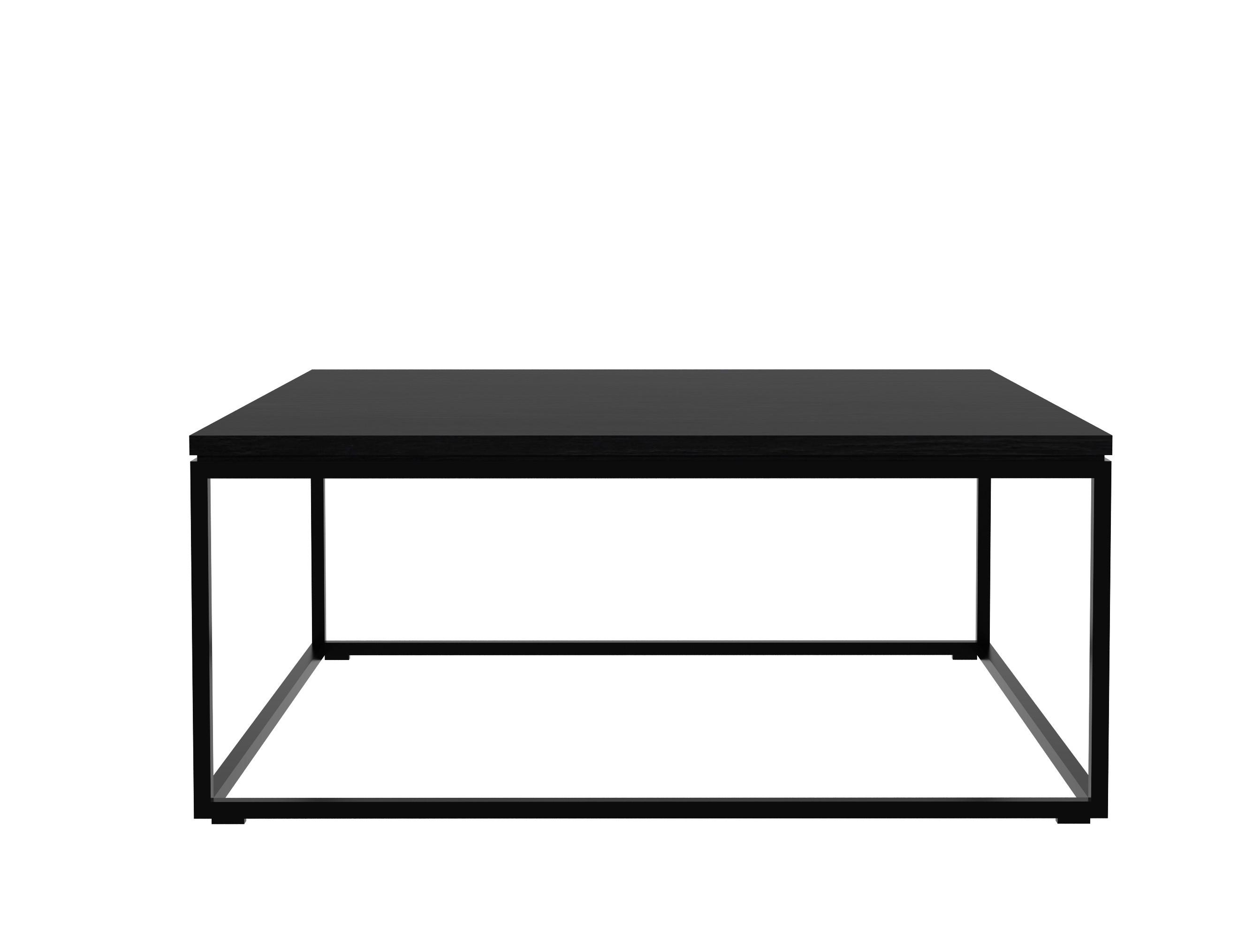 Long Thin Black Coffee Table Santaconapp