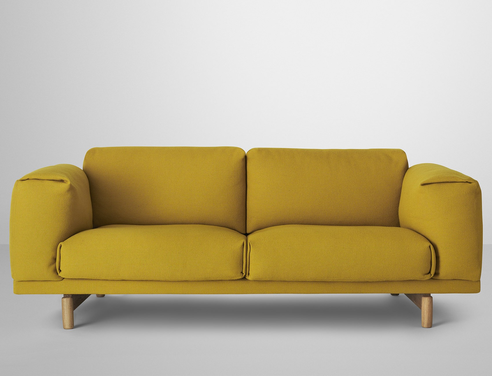 Muuto Rest Sofa : Sofa rest by muuto yellow wool fabric l h made in