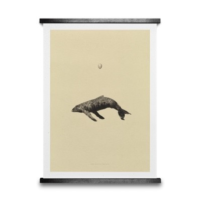 Paper Collective Whale Original Poster