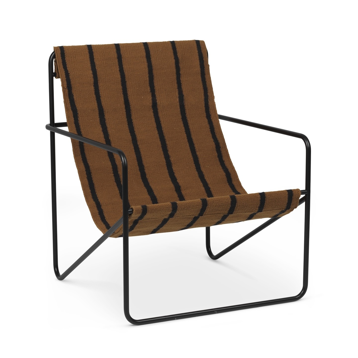 Ferm Living Desert Chair-Black / Stripe