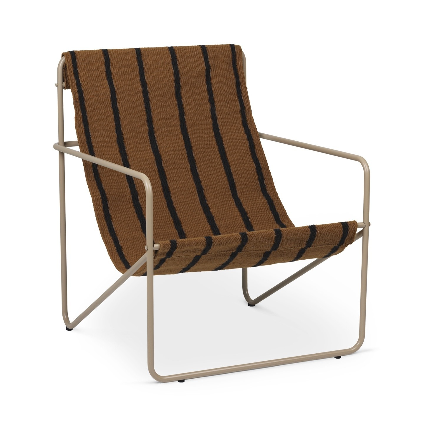Ferm Living Desert Chair-Cashmere / Stripe
