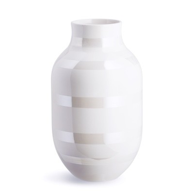 Kahler Omaggio Vase Mother of pearl