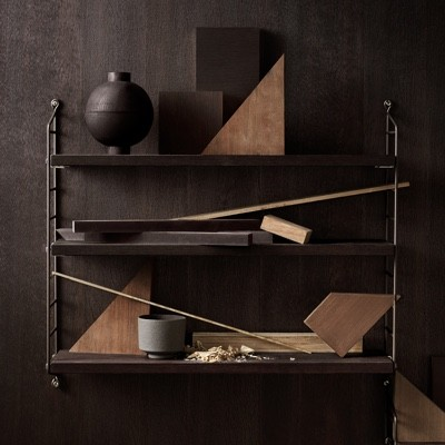 String Pocket Shelf smoked Oak