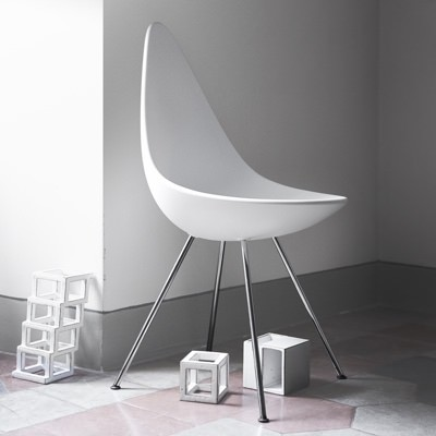 Fritz Hansen Drop Chair