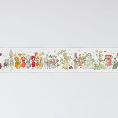 Boråstapeter Blomsterparaden Wallpaper Border