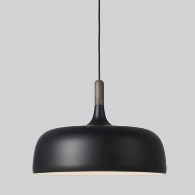 Northern Acorn Pendant Light - Black