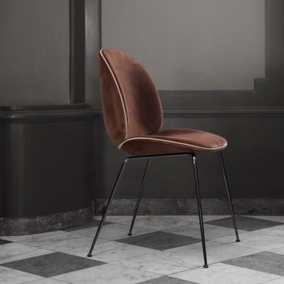 Gubi Beetle Chair Conic Base - Velvet