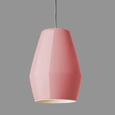 Northern Lighting Bell Pendant Light-Dark Pink