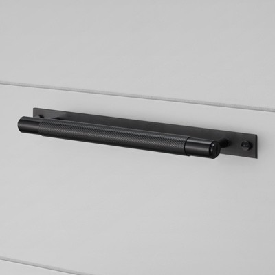 Buster + Punch Pull Bar Handle - Plate - Black