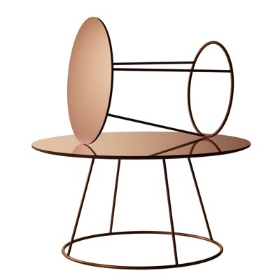 Swedese Breeze Table Copper