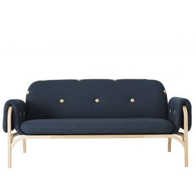 Swedese Button 2 Seater Sofa