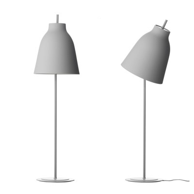 Light Years Caravaggio Floor Lamp matt Grey