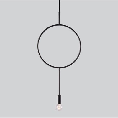Northern Lighting Circle Pendant