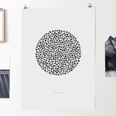 Coco Lapine Find Your Luck Poster
