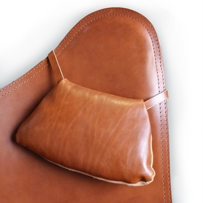 Cuero Design Butterfly Chair Pillow