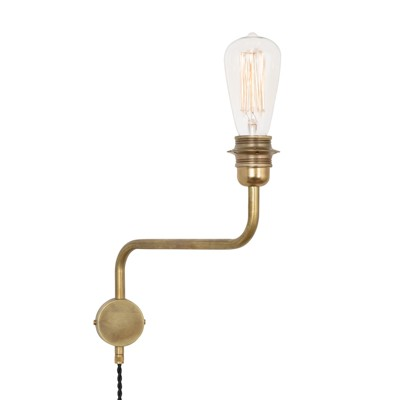 Konsthantverk Edison Up Wall Light