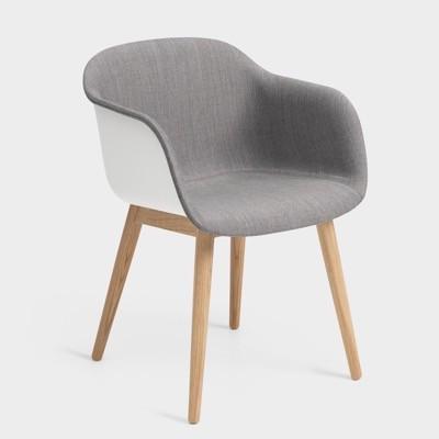Muuto Fiber Armchair Front Upholstery