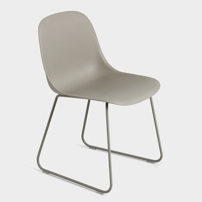 Muuto Fiber Side Chair Sled Base