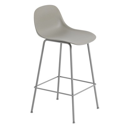 Muuto Fiber Bar Stool Tube Base