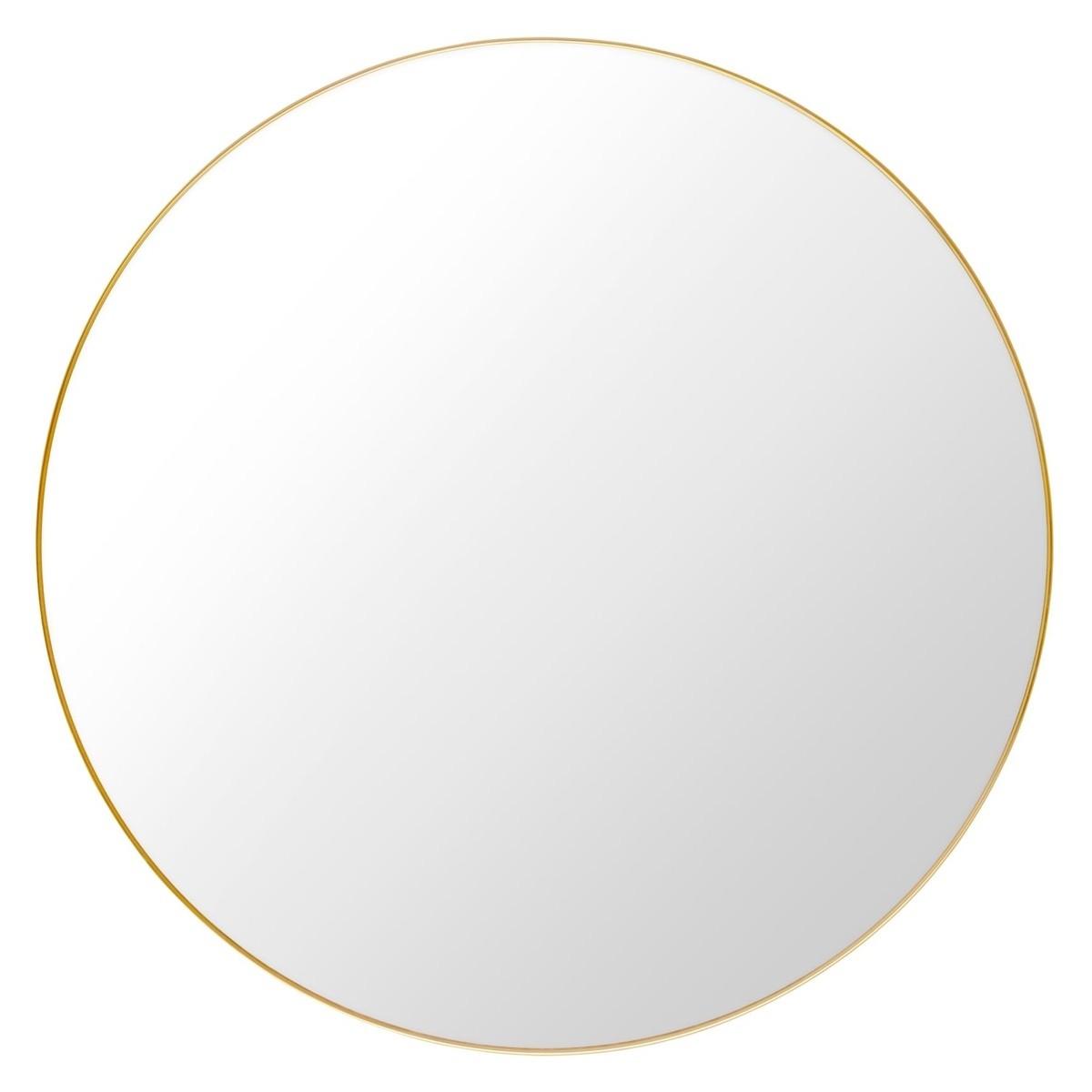 Gubi Mirror-Brass