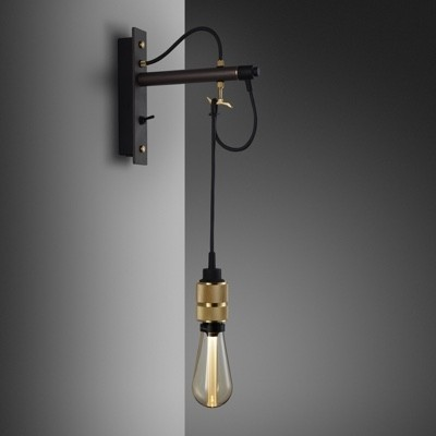 Buster + Punch Hooked Wall Light Nude