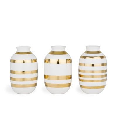 Kahler Omaggio Mini vase 3 pack