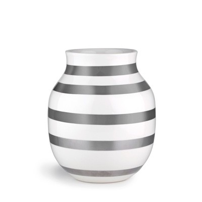 Kahler Omaggio Vase Silver