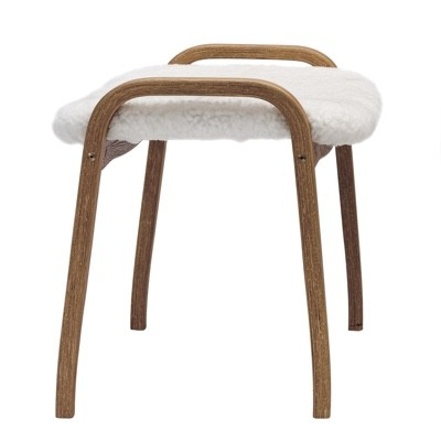 Swedese Lamino Footstool - Sheepskin