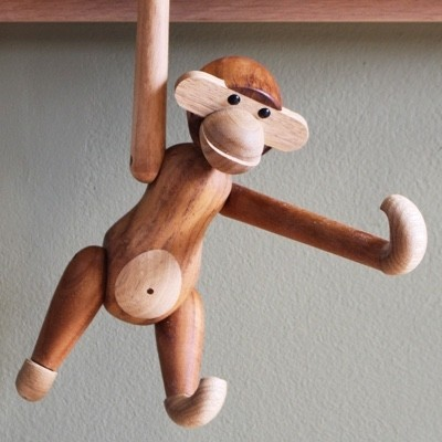 Kay Bojesen Monkey Teak and Limba