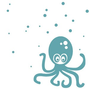 Ferm Living Octopus Wall Sticker