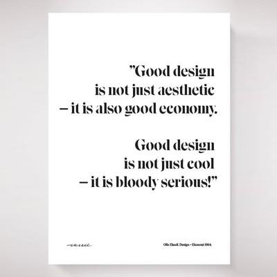 Olle Eskell Design = Ekonomi Poster