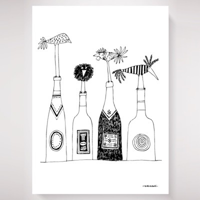 Olle Eskell Wine Poster