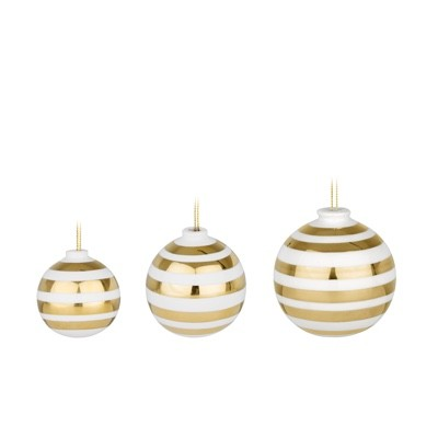 Kahler Omaggio Baubles 3 pack