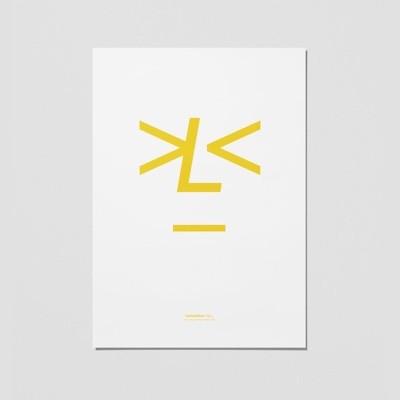 Playtype Lemonface Poster