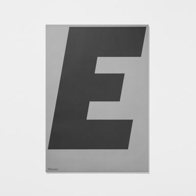 Playtype Grey Poster