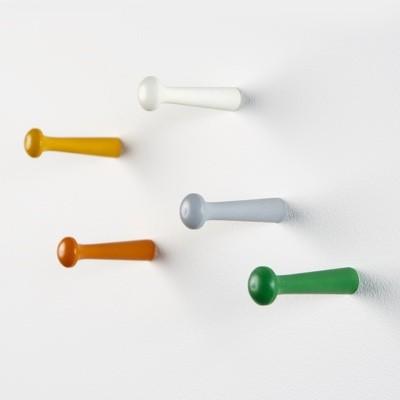 'PP' Colourful Shaker Coat peg