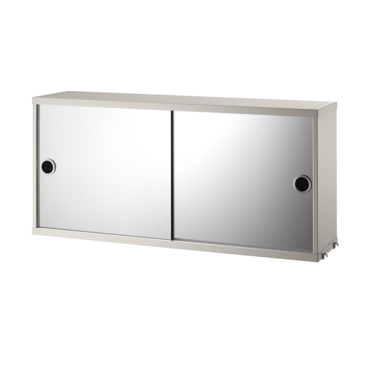 String Mirror Cabinet 78 x 20cm