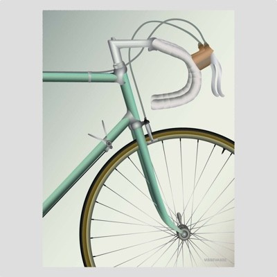 ViSSEVASSE Racing Bicycle Poster