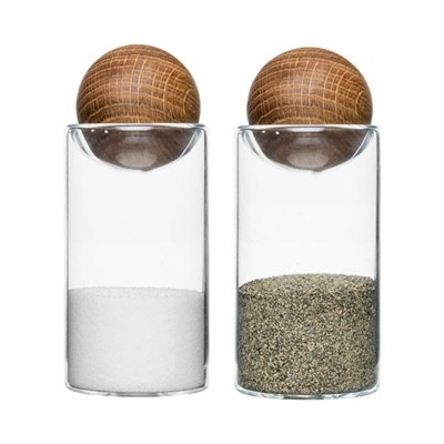 Sagaform Oval Oak Salt & Pepper Set