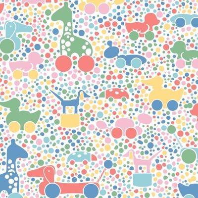 Boråstapeter Brio Dots Wallpaper
