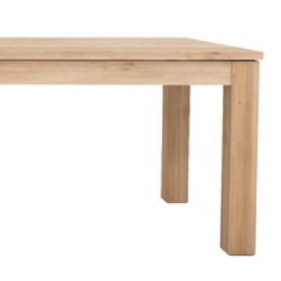 Ethnicraft Straight Extendable Dining Table