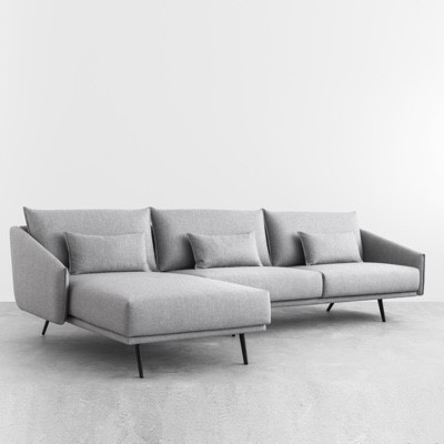 Sofas and easy chairs funktion alley for Sofas con chaise longue