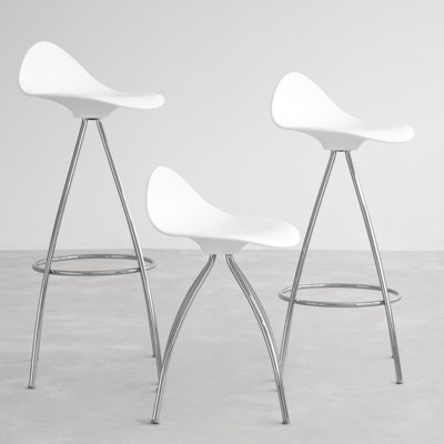 STUA Onda Monochrome Bar Stool