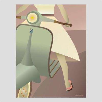 ViSSEVASSE Vesper Girl Poster
