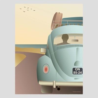 ViSSEVASSE VW Beetle Poster