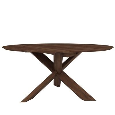 Ethnicraft Circle Dining Table-Walnut-163x163