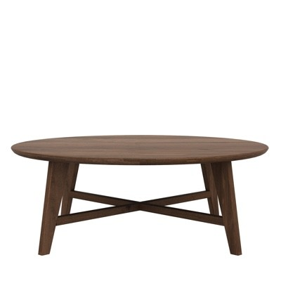 Ethnicraft Osso Round Coffee Table
