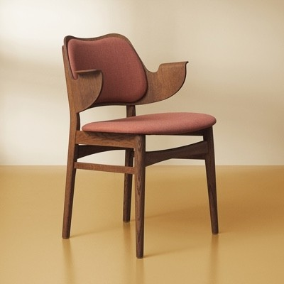 Warm Nordic Gesture Chair - Upholstered